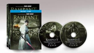 Pre-Order Blu-ray Combo and DVD, Rampant