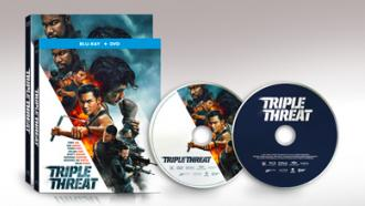 TRIPLE THREAT DVD/BD combo