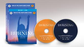 BURNING (2018) BluRay Combo & DVD packshots