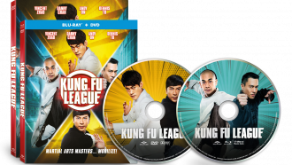 Kung Fu League Blu-Ray & DVD Combo