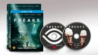FREAKS Available on DVD and Blu-ray Combo December 10th