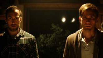 Sci-fi director duo Benson and Moorhead act in their film The Endless