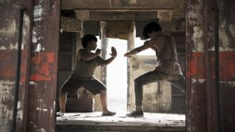 Superhero GUNDALA learning martial arts as a child in Jakarta