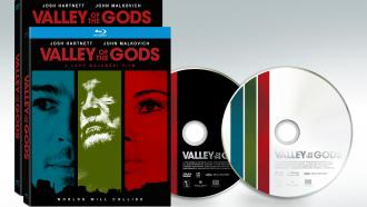 Purchase Valley of the Gods on Blu-ray and DVD, official disc art