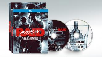 Russian Raid Blu-ray and DVD packshots