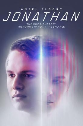 Official poster for Ansel Elgort film JONATHAN (2018) from Well Go USA Entertainment