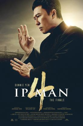 IP MAN 4: THE FINALE Official Poster released by film distributor Well Go USA
