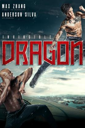 Invincible Dragon key art poster-Max Zhang-Anderson Silva