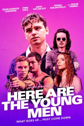 Official poster art for HERE ARE THE YOUNG MEN from Well Go USA Entertainment