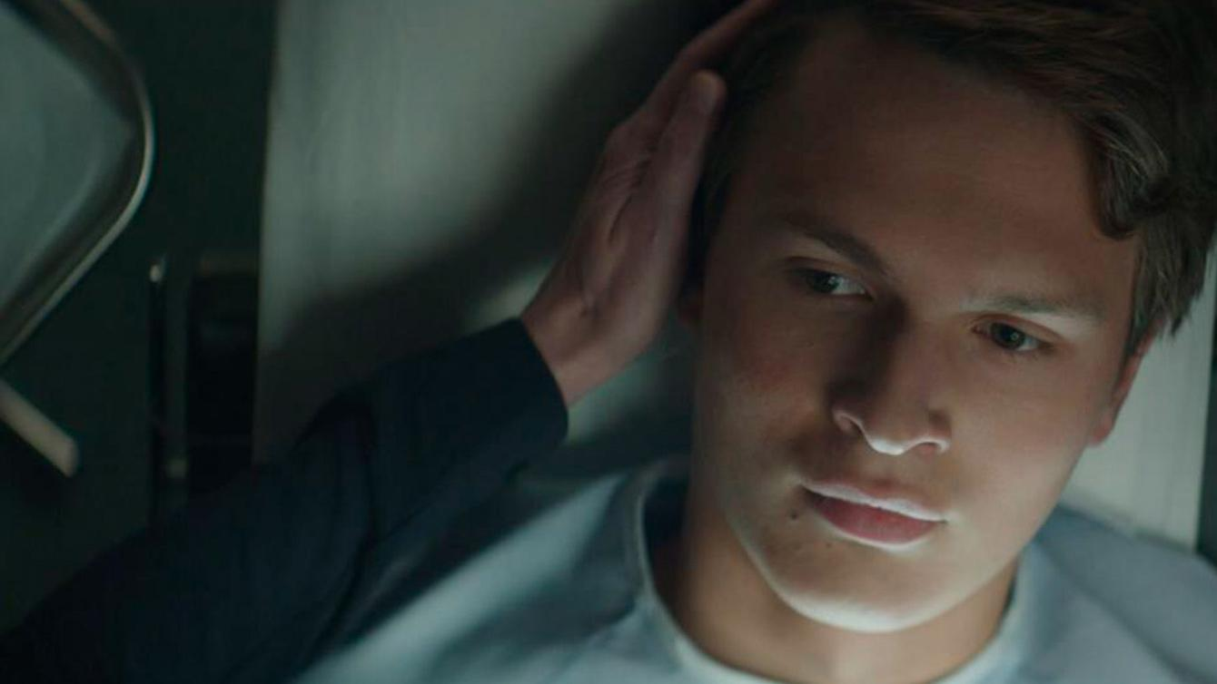 JONATHAN features Ansel Elgort in a sci fi, drama, thriller that also stars Suki Waterhouse, Patricia Clarkson, and Matt Bomer.