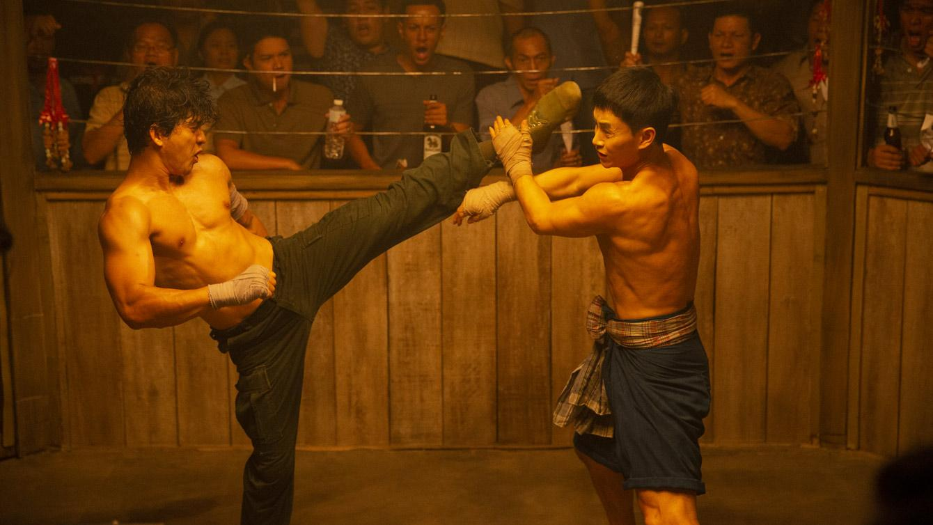 TRIPLE THREAT stars TONY JAA, IKO UWAIS, SCOTT ADKINS, TIGER CHEN, MICHAEL JAI WHITE. BUT TICKETS NEW ACTION FILM FIGHT