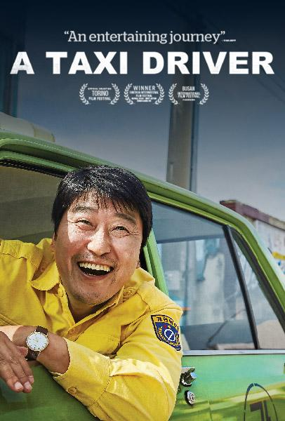A TAXI DRIVER (2017) - Official movie poster by Well Go USA
