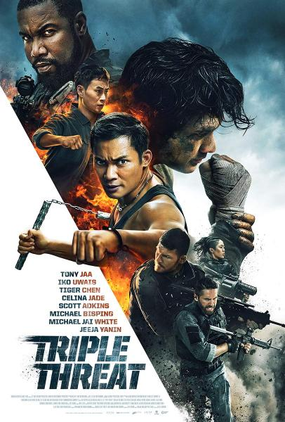 TRIPLE THREAT (2019) Official Poster