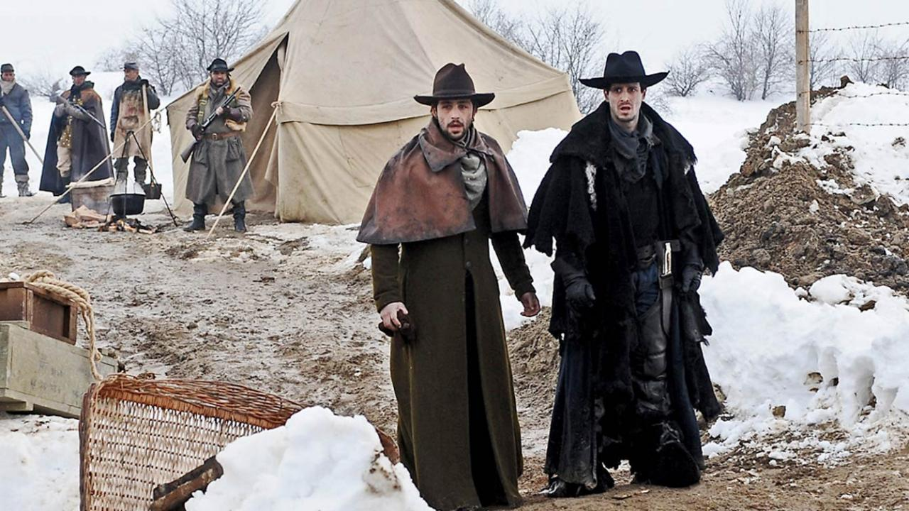 The Timber film from Well Go stars Josh Peck as a bounty hunter in the wild west