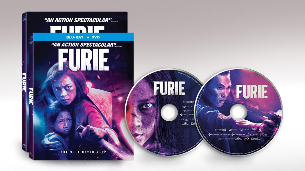Own FURIE today on Digital HD & Blu-ray Combo.