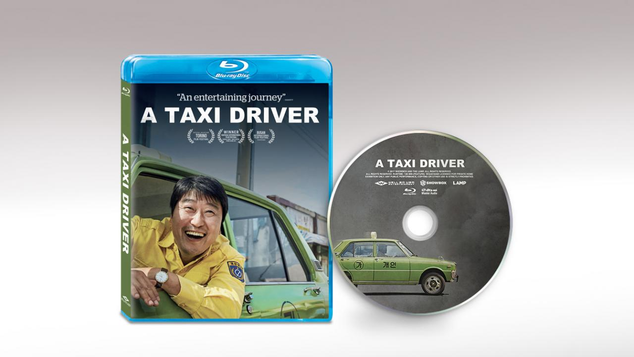 A Taxi Driver (2017) Packshot and Disc