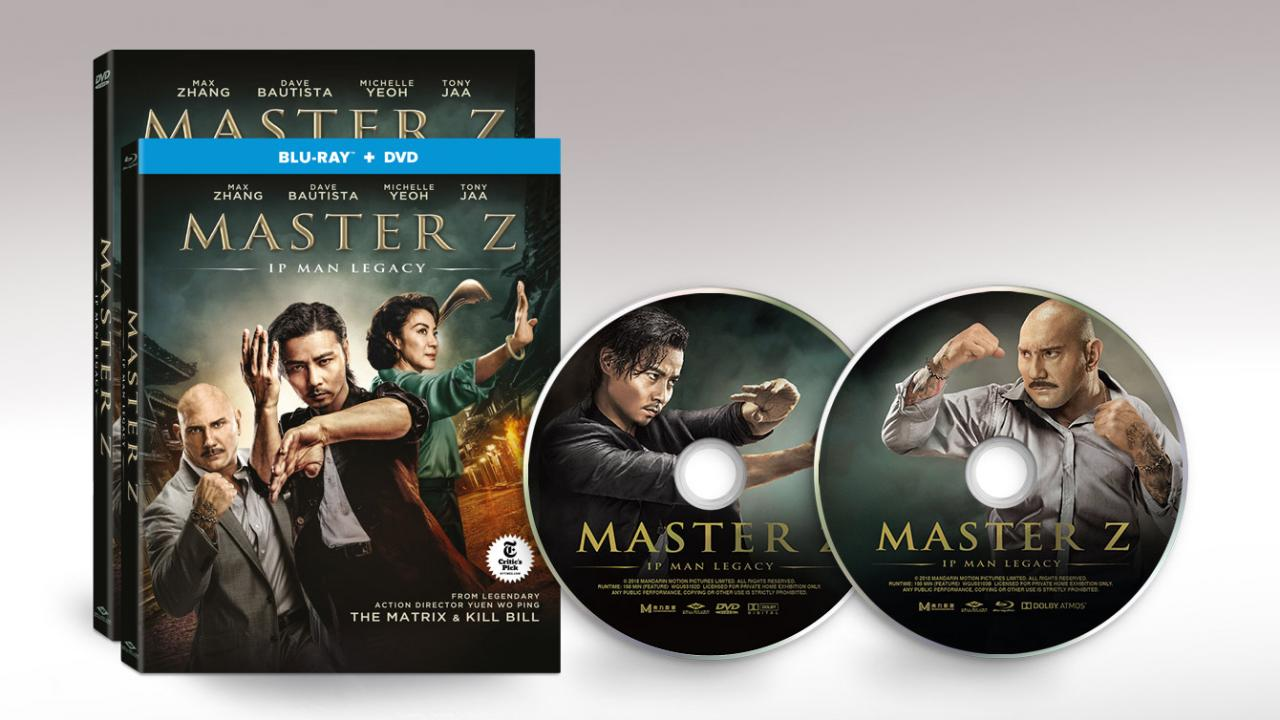 Master Z Ip Man Packshots and Discs
