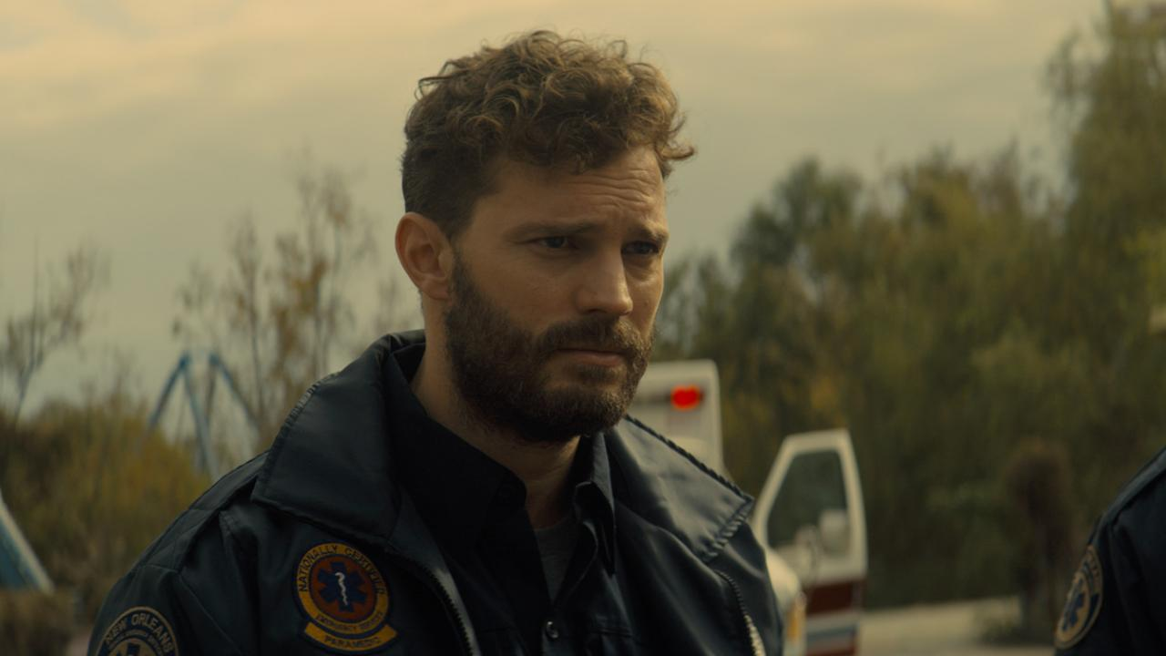 Jamie Dornan witnesses drug-related death as New Orleans paramedic