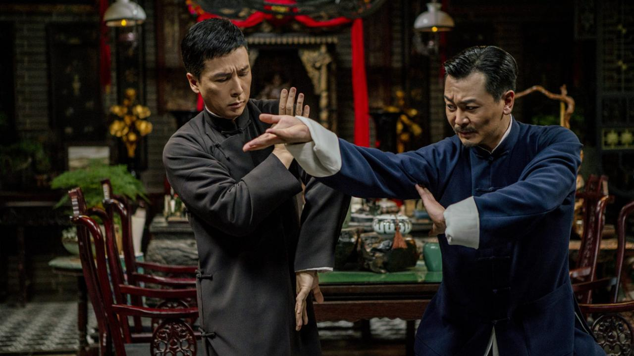 Donnie Yen fights as Ip Man in IP MAN 4: THE FINALE.
