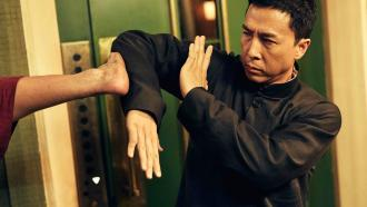 Donnie Yen as wing chun master Yip in Ip Man 3 franchise film