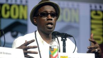 Wesley Snipes at San Diego Comic Con International 2018.