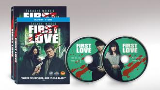 First Love movie by filmmaker Takashi Miike DVD Blu-ray packshots