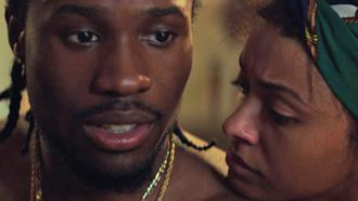 Shameik Moore and Kat Graham as husband and wife in Cut Throat City teaser trailer