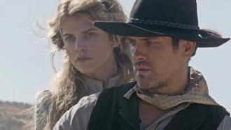 AnnaLynne McCord pictured with Neal Bledsoe for A SOLDIER'S REVENGE.