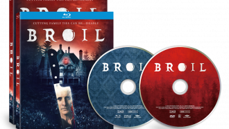 Official disc art for BROIL from Well Go USA