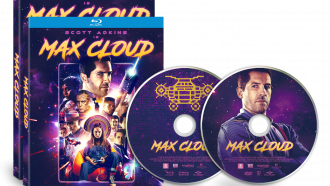 Official box art and disc art for MAX CLOUD with Scott Adkins by Well Go USA
