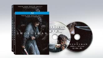 Official disc art and box art for Korean martial arts film THE SWORDSMAN by Well Go USA