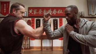 Matt Page and Mykel Shannon Jenkins face off in martial arts comedy THE PAPER TIGERS by Well Go USA