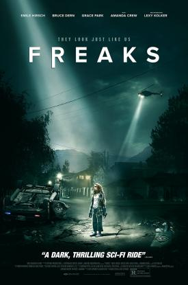 FREAKS (2019) Official Movie Poster Art