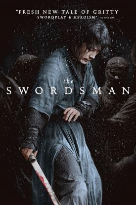 Official key art for THE SWORDSMAN by Well Go USA
