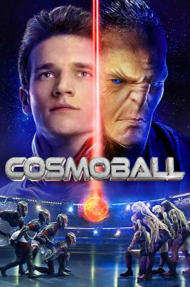 Official poster art for Russian sci-fi action movie COSMOBALL released by Well Go USA
