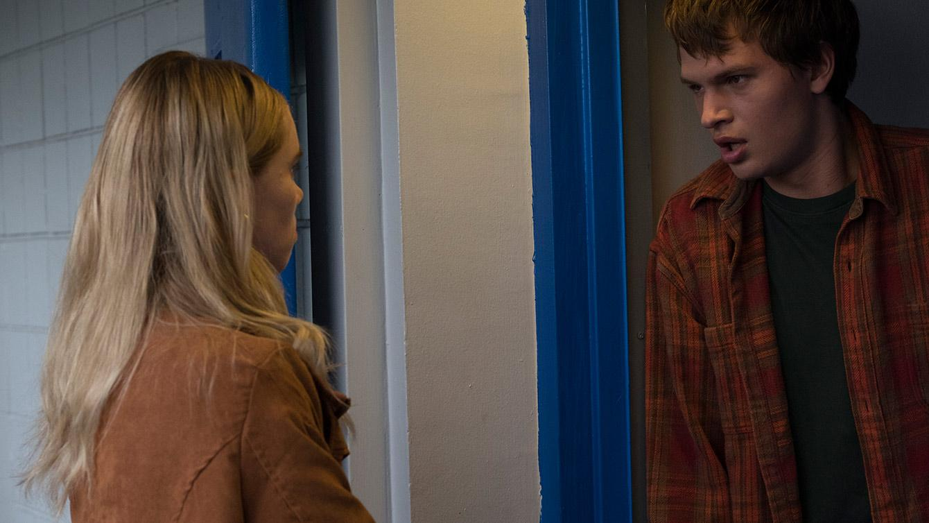 Suki Waterhouse and Ansel Elgort star in JONATHAN, a film directed by Bill Oliver