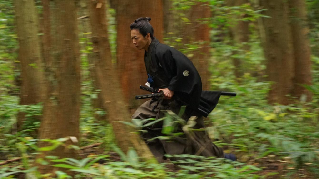 SAMURAI MARATHON 1855 official movie still image