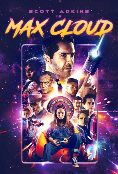 MAX CLOUD official home entertainment poster art for Well Go USA