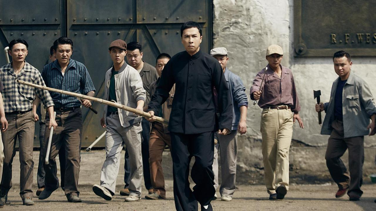 Donnie Yen stars as grandmaster Yip martial arts wing chun master