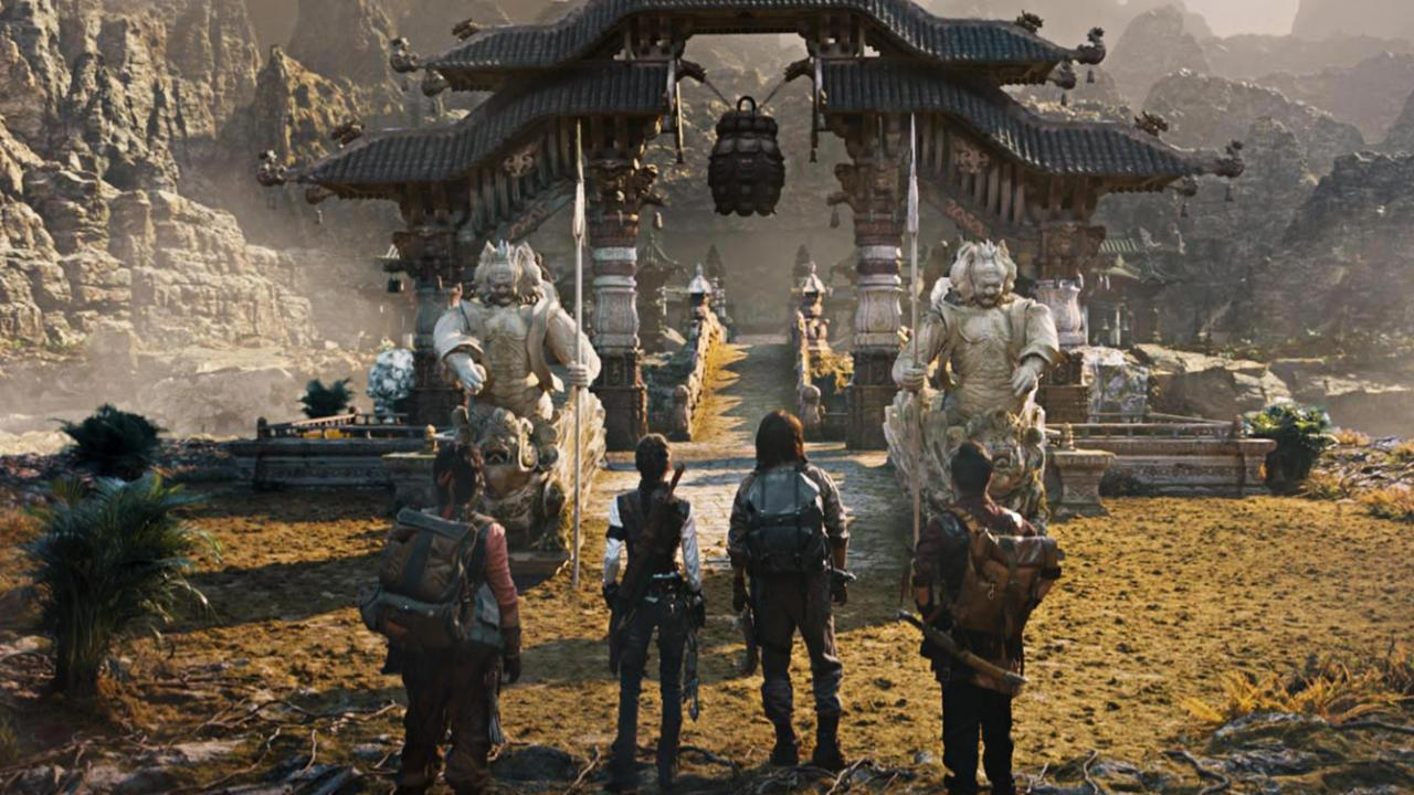 Epic action adventure Chinese film MOJIN: THE WORM VALLEY