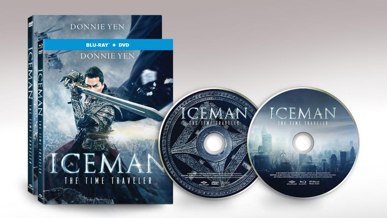 Iceman Movie Packshots and Discs Well Go USA