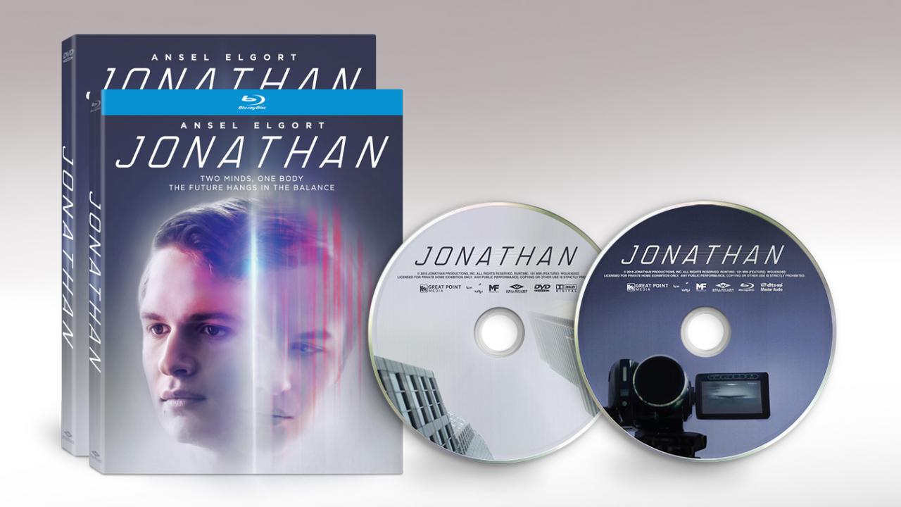 Jonathan (2018) official movie Packshots and Discs from Well Go USA