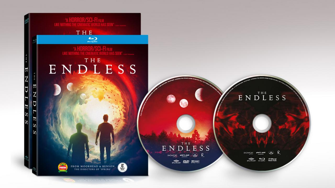 The Endless Movie Packshots and Discs