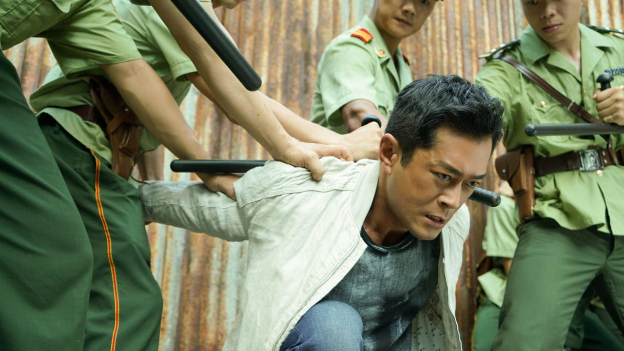 Louis Koo is an undercover cop for Hong Kong Police.
