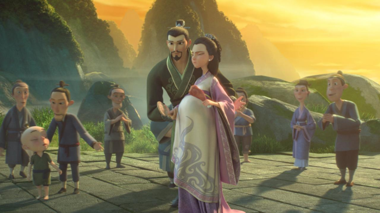 NE ZHA, based on Chinese folklore, tells the story of a boy who must fight fate and the family that does not give up on him.