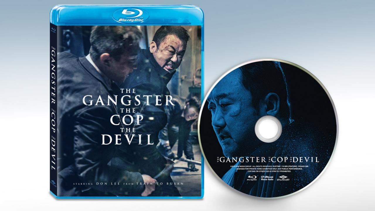 Own The Gangster, The Cop, The Devil on Blu-ray today. Packshots and discs pictured.