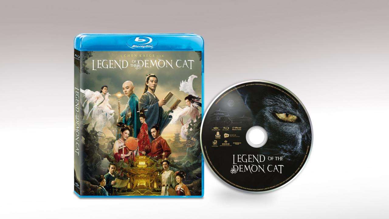 Legend of the Demon Cat (2019) Well Go USA Packshot and Disc