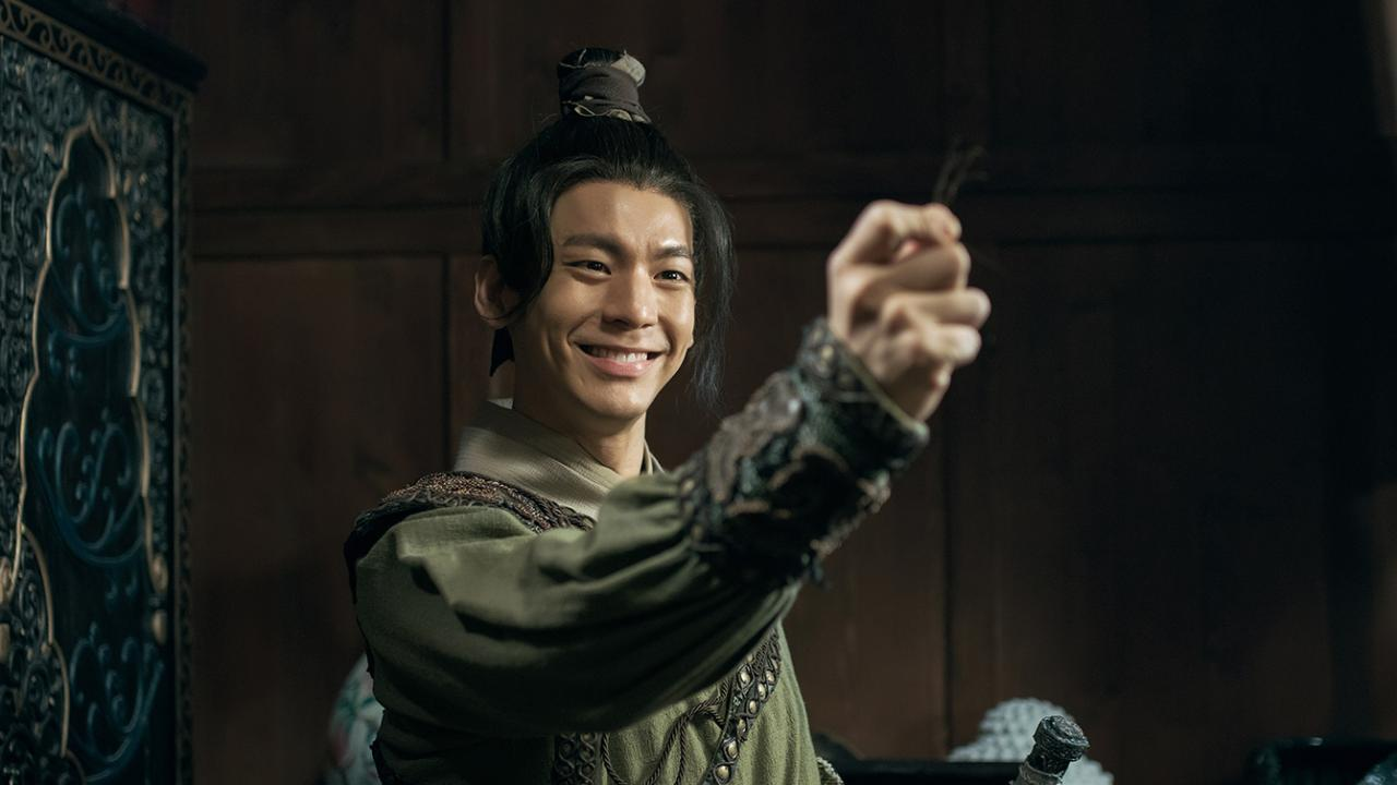 Po-Hung Lin plays a warrior soldier
