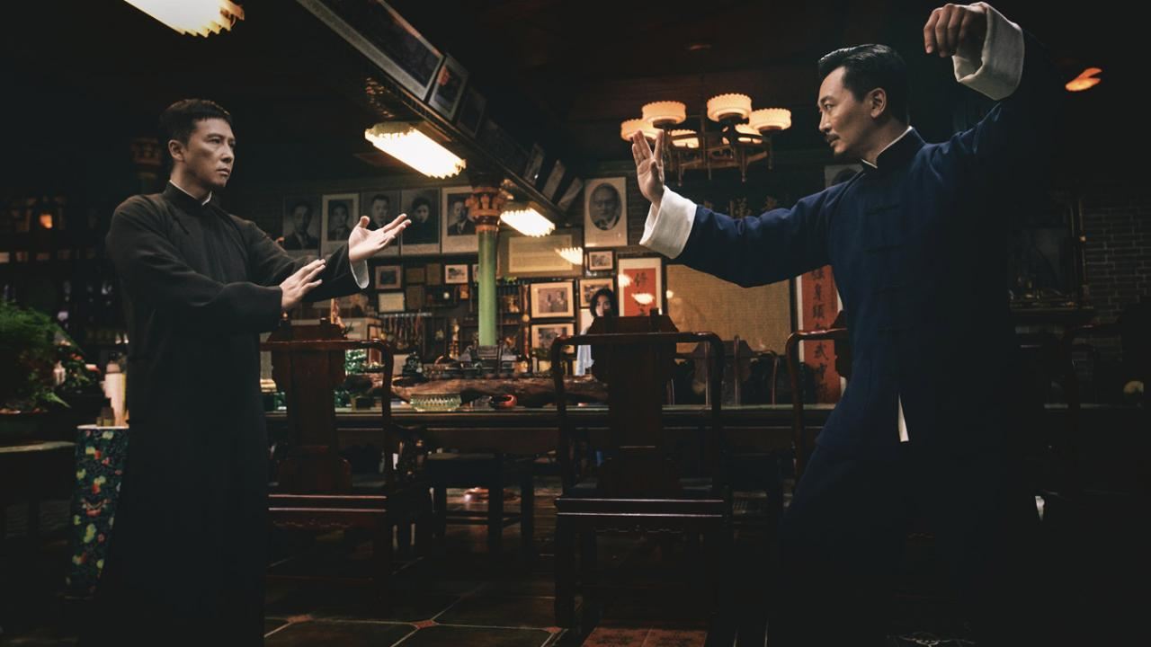 Donnie Yen stands ready to fight as Ip Man in IP MAN 4: THE FINALE.