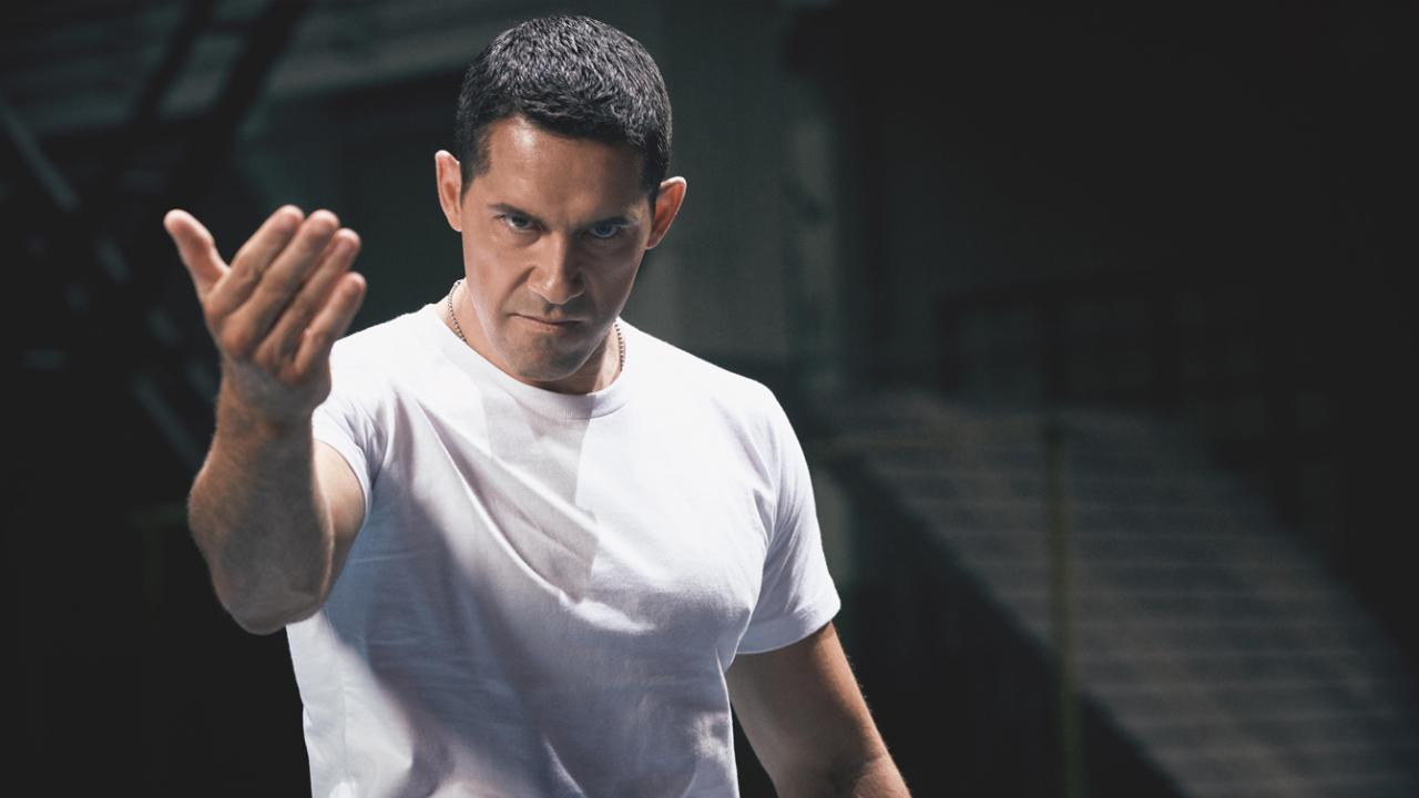 Scott Adkins is Barton Geddes in IP MAN 4: THE FINALE.